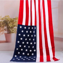 140*70cm 100% cotton beach towel UK/American/Canada Flag Beach Towe beach towel Summer Sport Swimming Sunbath Bath towels