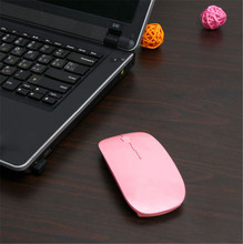 Quality Promotion 2.4 GHz Many color Wireless USB Optical Mouse for APPLE Macbook Mac Mouse, Free & Drop Shipping