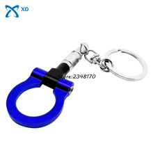 Keyring Ring Towing Creative Gifts Key Fob Turbo Car Accessories For Opel Dodge Trailer Hook Keychain Key Chain Auto Part Hot