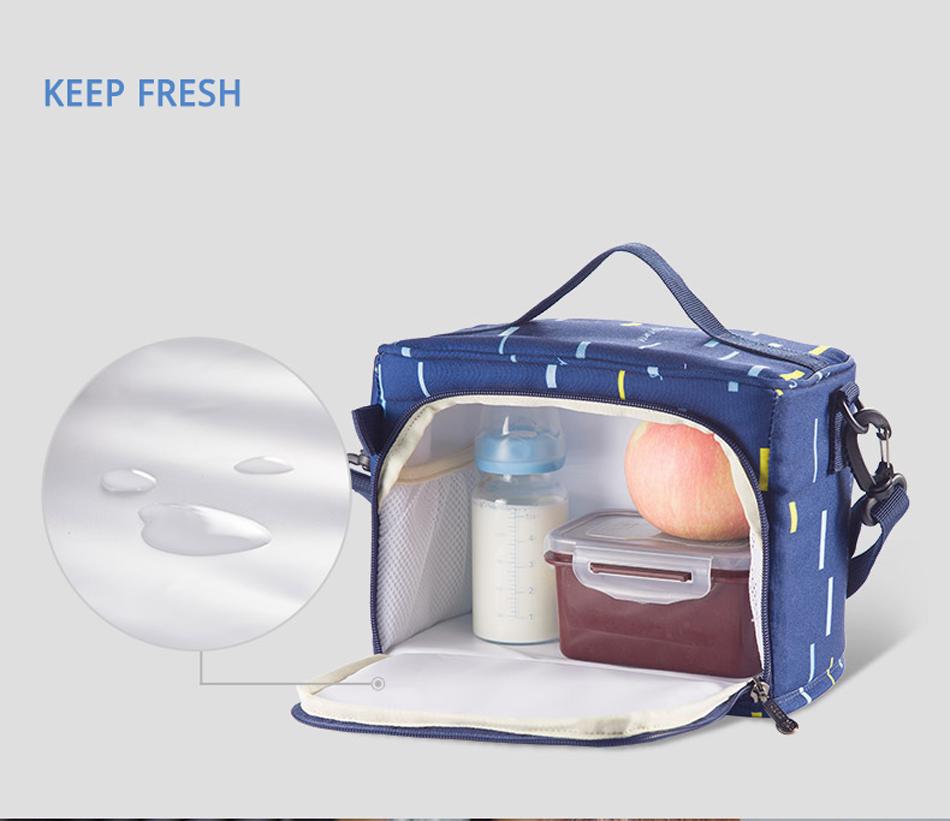 SUNVENO حقيبة مستلزمات الطفل 9
