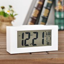 YOHAPP Brand Large-Display Digital Led Alarm Clock With Backlight Calendar Electronic Desk Table Clock Desktop Led Clocks