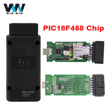 Latest Version OP COM V1.59 with PIC18F458 Chip Diagnostic Tool OpCom Can Bus Diagnostic Tool for opel OBD2 OBDII Scanner Tool