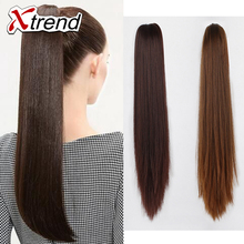 synthetic ponytail hair pieces  kanekalon hair extensions Synthetic Claw Ponytail Hair Piece Ponytail Hair Extesion