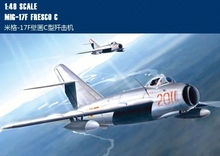 Hobby Boss Model 80334 Scale 1:48 - MiG-17F Fresco C Aircraft plastic model kit(China)