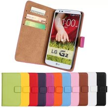 For case LG G2 Magnetic Leather Cover Case for LG G2 Phone shell Card holder Holster (AT&T D800, T-Mobile D801,Global D802)