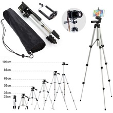 Professional Camera Phone Tripod Stand Holder Mount Tripod for Phone Cell Phone +Bag