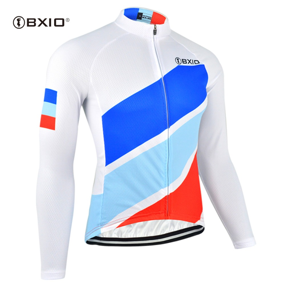 BXIO Long Sleeve Pro Team Cycling Jersey Bike Jersey Outdoor Sport Cycling Clothing Women Top Shirts Mtb Clothes BX-0109RB091-J(China)