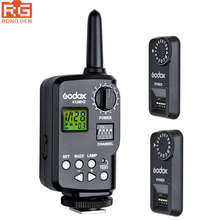 Godox Ft-16s Flash Trigger Remote Wireless Power Control 1x Transmitte+2x Receiver for Godox V850 V860 etc Flash Speedlite(China)