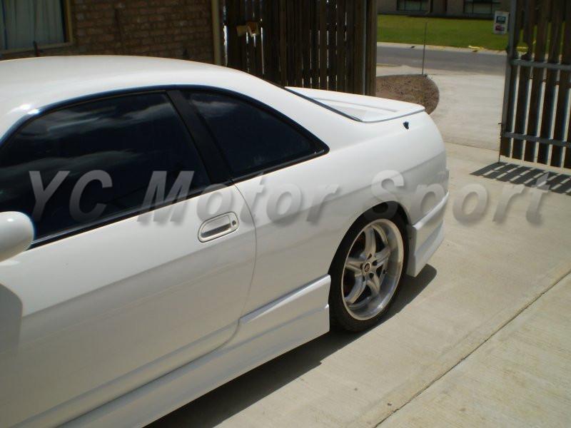 1995-1998 Nissan Skyline R33 GTS 2D M Sport Style Side Skirts FRP (5)