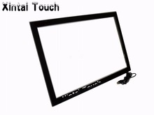 Xintai Touch 65 inch usb infrared touch panel/ ir touch frame / multi touch screen overlay kit for TV/display(China)