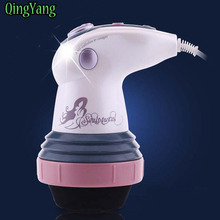 Body Massage.Slimming Diet Headers Face Skin Care Relax Spin Spa Massage Eletric Vibration lose Weight Burn Fat massager(China)