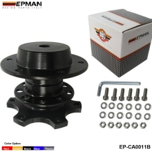 EPMAN -Steering Wheel Snap Off Quick Release Hub Adapter Boss kit Universal EP-CA0011