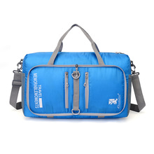Outdoor Unisex Large Capacity Foldable sling shoulder Multifunctional sport bag Travel sport Fitness Gym Baghandbag Duffle Bag(China)