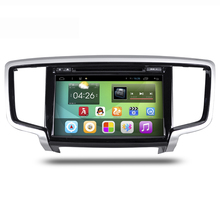 10.1 inch Screen Android 4.4 Car Navigation GPS System Stereo Media Auto radio DVD Player Entertainment for Honda Odessey(China)