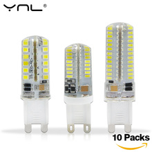 YNL 10pcs Lampada G9 LED Lamp 220V 3W 2W 3014 SMD 2835 360 Beam Angle Luz Bombillas Lampadas de LED G9 Light Bulb Lamps(China)