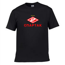 2017 new Russian premier league fc club Spartak Moscow T-Shirts Fashion Camiseta t shirt Glushakov O-Neck Cotton Tee Shirt(China)