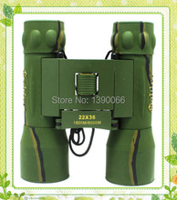 High-powered Binocular Telescope 22x36mm HD Optical Compact Roof Prism Pocket Camouflage Floding binocolo for Outdoor Sports