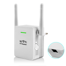 Wireless-N Wifi Repeater 802.11b/g/n Wifi Signal Amplifier 300Mbps 2dBi Antenna Signal Booster Range Expander Repetidor