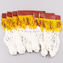 6cpcs Pool Snooker Billiard Table Cotton Pockets complete Pre Stitched Leather with Tassels