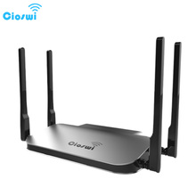 MT7621 gigabit 2.4g+5g routers 512MB RAM usb access point with Micro SD Card slot 1200mbps 1 WAN 4 LAN Ports(China)