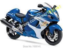 Hot Sales,For Suzuki Hayabusa GSX-R 1300 2008 2009 2010 2011 2012 2013 GSXR1300 Blue White Motorbike Fairing (Injection molding)