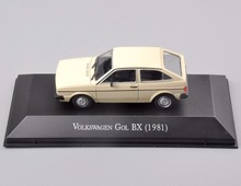 1/43 Scale Diecast Volkswagen Gol BX (1981) Car Vehicle Model Collections Car Kids Toys brinquedos Collectible boys Gifts(China)