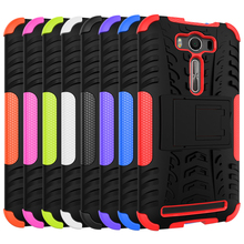 for ASUS Zenfon 2 Laser Z00ED ZE500KL ZE 500KL 500 ZE500 KL Z00E  Case Hard PC+Silicone Phone Bag Case for ASUS_Z00ED Cover