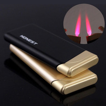 Fashionable Windproof isqueiro Cobra Shape Cigarette Case Cigar Lighter with Practical Function (Bronze)