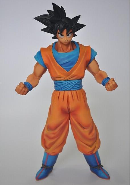 BANPRESTO MSP Dragon Ball Z Son Gokou Figure Dragon Ball KAI Son Goku 25CM Super Saiyan Goku Collectible Model Toy Figuras DBZ<br>