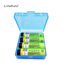 Liitokala 4pcs/lot New 2017 Original For Panasonic NCR 18650 3400mah Rechargeable Li-ion  3.7V 3400 battery