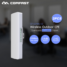 3KM Long Range Outdoor CPE WIFI Router 2.4GHz 150Mbps Wireless Outdoor AP WIFI Repeater Access Point CPE AP Bridge nano station