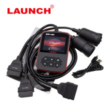 Truck Diagnostic Scanner Launch CReader CR-HD Heavy Duty Code Reader Diesel Truck Interface Update Online