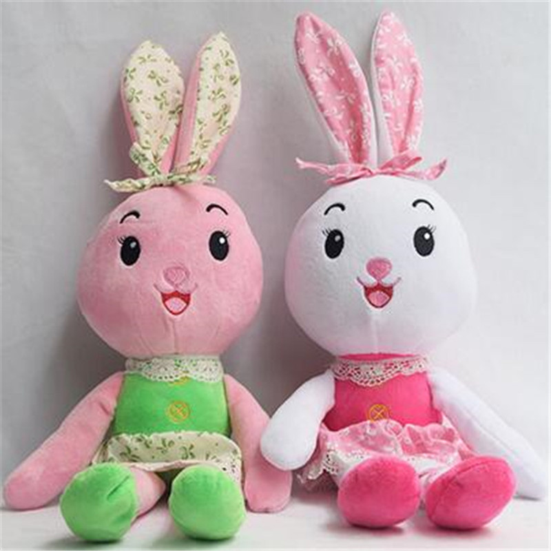3 color Baby Plush Toys 40cm Rabbit Plush Stuffed Doll Baby Infant Soft Appease Toy Kawaii Animal Dolls Gift for Children<br><br>Aliexpress