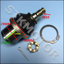 HISUN 500CC 700CC HS500 HS700 ATV UTV QUAD Tie Rod End Ball Joint with Scew nuts pin and Circle