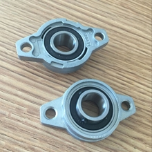 12 mm caliber zinc-aluminum alloy bearing KFL001 flange bearing with pillow block wholesale free shipping