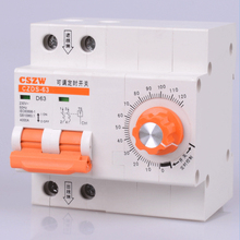 circuit break with timing function countdown circuit breaker with time function 0-120 minutes timer switch(China)