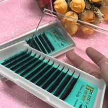 1 Tray/Set Eyelashes Extension South Korea Silk Lashes Classic Premade Lashes Custome Logo For Eyelashes Extension Free Shipping(China)