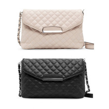 Classic Fashion Women Shoulder Bag Leather Clutch Chain Handbag Tote Purse Small Messenger Bag Crossbody Bag 2016 Hot Sale