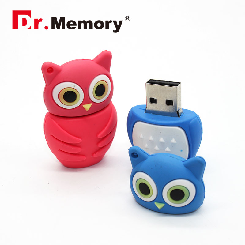 8GB Owl usb flash drive cartoon usb flash drive night owl pendrive cute model flash stick 2016 wholesale key usb<br><br>Aliexpress