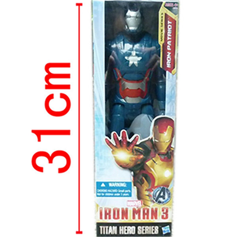 Movie The Avengers Iron Man PVC Action Figure Collectible Model Toy for Children Birthday gifts <br>