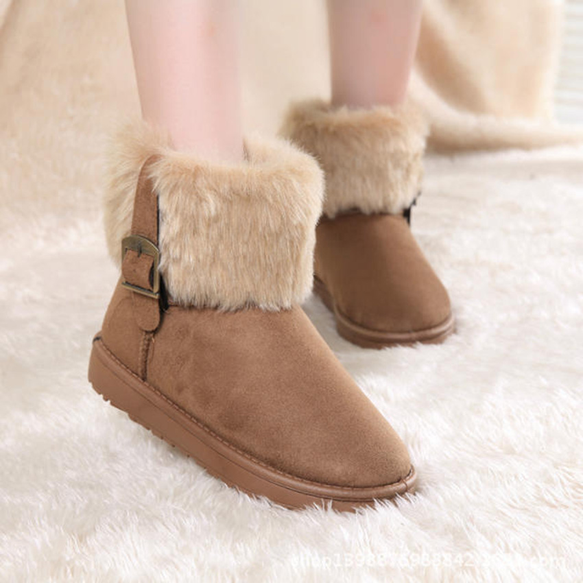 Free Shipping Shoes Woman Snow Boots  New Fashion Style Winter Women Shoes Botines Mujer Chaussure Femme Zapatos De Nieve 20<br><br>Aliexpress