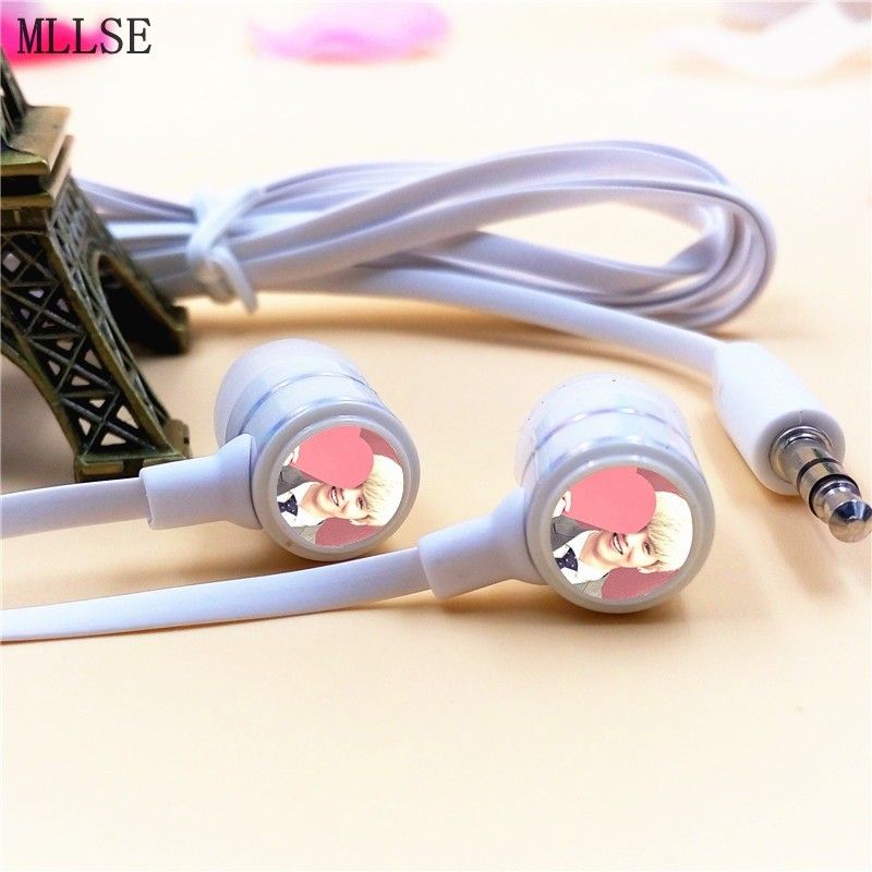 MLLSE Anime EXO EXO-M LUHAN LU HAN In-ear Earphone 3.5mm Stereo Earbuds Phone Music Game Headset for Iphone Samsung HTC MP3 MP4(China (Mainland))