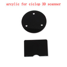 DIY 3d scanner acrylic chassis acrylic Calibration board  parts