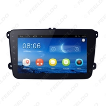 "FEELDO 8"" Ultra Slim Android 4.4.2 Quad Core Car Media Player With GPS Navi Radio For VW Golf /Polo/Passat/Jetta/Tiguan/Touran"