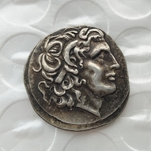 G(01)rare ancient coin Alexander III the Great 336-323 BC.Silver Drachm Ancient Greek Coin copy coins wholesale(China)