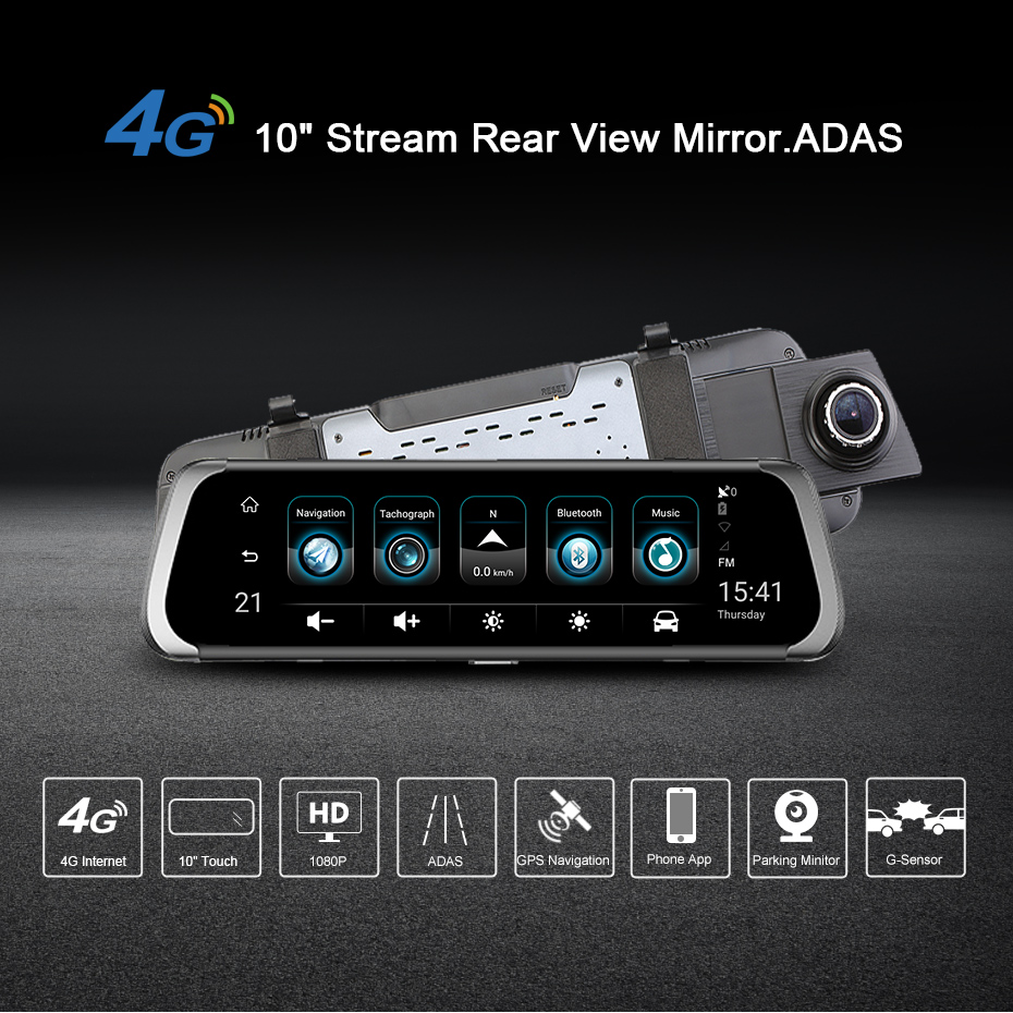 HTB1Mo1grm8YBeNkSnb4q6yevFXaf - Car DVR 4G Full HD 1080P Android Rear View Mirror Camera