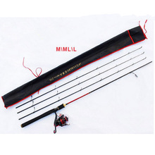 spinning rod carbon Baitcasting Carbon Casting Fishing Rod 2.40M M/ML/L Power ultra light fishing rod