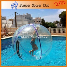 Free shipping! Manufacturer ! Cheap transparent inflatable walking water ball pool human hamster water walking ball(China)
