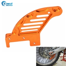 1 PCS Motorcycle CNC Aluminum Rear Brake Disc Guard Protector Cover For KTM 125 144 150 200 250 300 450 EXC Modified Accessory
