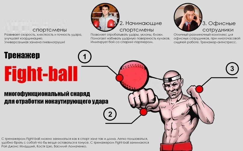 Fighting ball